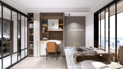 富裕型100平米三室两厅轻奢风格书房装修图片大全