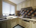 20万以上120平米三室两厅地中海风格厨房装修图片大全