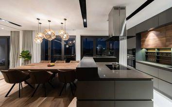 20万以上140平米四室三厅现代简约风格餐厅装修图片大全