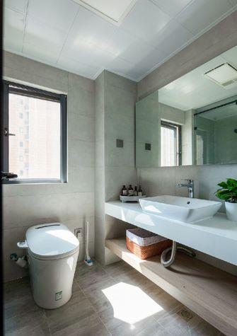经济型140平米三室两厅日式风格卫生间欣赏图