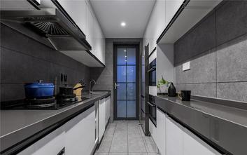 富裕型90平米三室两厅美式风格厨房效果图