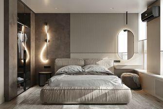 富裕型60平米一室两厅现代简约风格卧室欣赏图