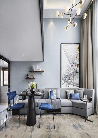 5-10万50平米一室一厅北欧风格餐厅图片大全