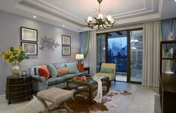 豪华型130平米三田园风格客厅装修案例