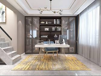 10-15万140平米三室两厅混搭风格书房图片大全