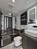 经济型40平米小户型现代简约风格卫生间欣赏图