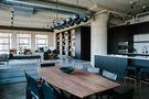 15-20万90平米一室一厅工业风风格餐厅设计图