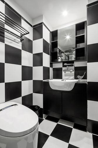 60平米一居室现代简约风格卫生间效果图