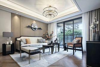富裕型110平米三室一厅中式风格客厅图