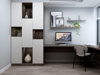 豪华型110平米三室两厅现代简约风格书房图片