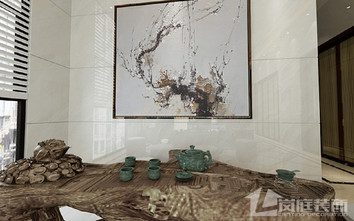 20万以上140平米别墅中式风格书房图片