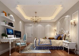 富裕型120平米三室一厅欧式风格卧室效果图
