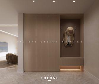 富裕型130平米三室两厅混搭风格玄关欣赏图