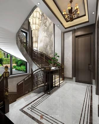 豪华型140平米别墅中式风格楼梯间装修效果图