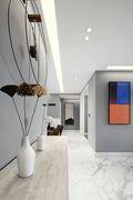 豪华型三室两厅混搭风格走廊图片大全