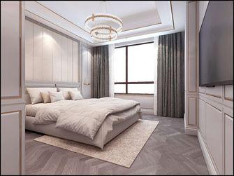 140平米四室三厅欧式风格卧室图