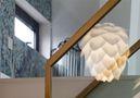 20万以上140平米复式混搭风格楼梯间欣赏图