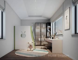 20万以上140平米别墅中式风格青少年房设计图
