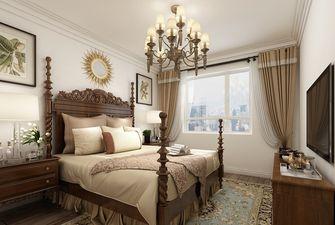 110平米美式风格卧室图