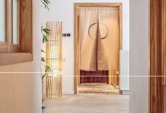 富裕型130平米三室两厅日式风格玄关欣赏图
