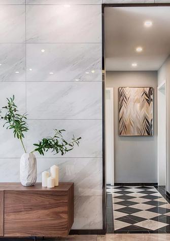 70平米三室一厅现代简约风格走廊装修图片大全