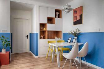 富裕型70平米三室两厅北欧风格餐厅图片大全