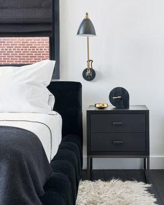 140平米现代简约风格卧室设计图