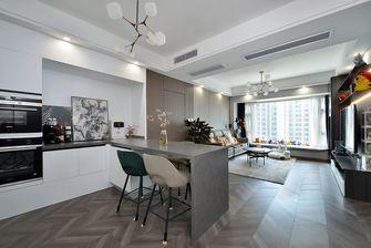 豪华型80平米现代简约风格餐厅装修效果图