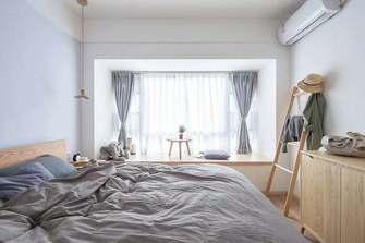 富裕型110平米三日式风格卧室装修案例