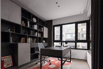 经济型140平米四室四厅现代简约风格书房设计图