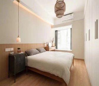 富裕型三室两厅日式风格卧室图