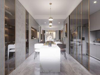 富裕型140平米三室两厅港式风格餐厅装修案例