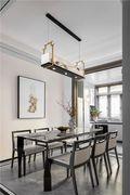 豪华型140平米三室一厅中式风格餐厅欣赏图