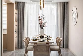 经济型90平米三室一厅中式风格餐厅装修效果图