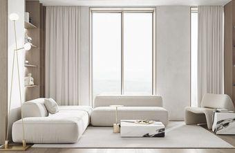 富裕型60平米一居室轻奢风格客厅装修效果图