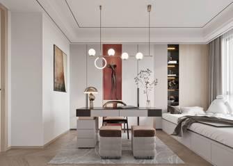 富裕型140平米轻奢风格书房图片