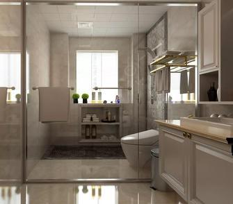 20万以上140平米三室两厅欧式风格卫生间图片大全