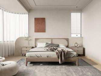60平米英伦风格卧室效果图