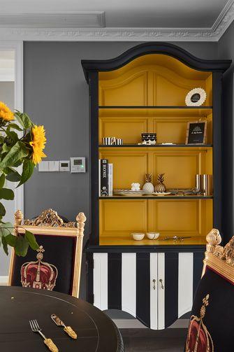 富裕型110平米混搭风格储藏室图