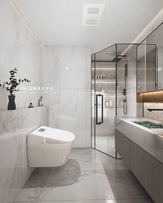 豪华型140平米三室两厅现代简约风格卫生间欣赏图