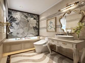 豪华型130平米三室两厅新古典风格卫生间图片大全