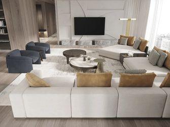 20万以上140平米复式轻奢风格客厅装修图片大全