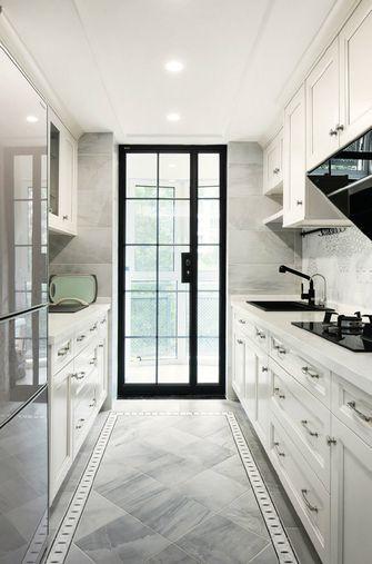 富裕型120平米三港式风格厨房装修图片大全