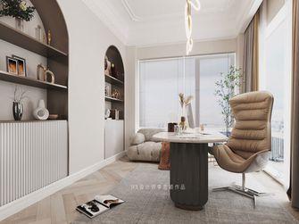 富裕型140平米三室两厅法式风格书房欣赏图
