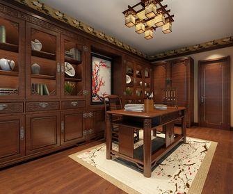 140平米中式风格书房欣赏图