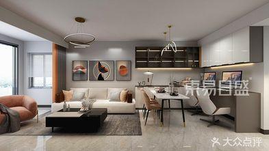 90平米一室两厅现代简约风格客厅图片