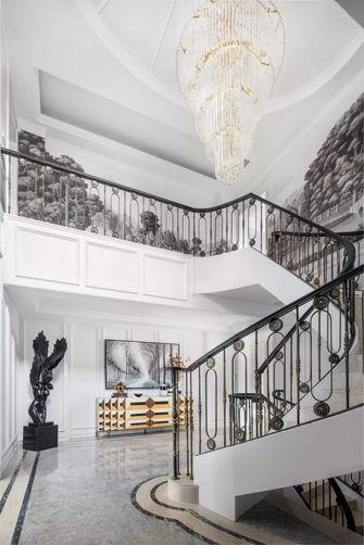 20万以上140平米别墅欧式风格楼梯间装修图片大全