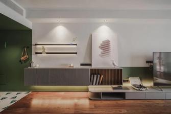 经济型110平米三室两厅新古典风格玄关图片大全