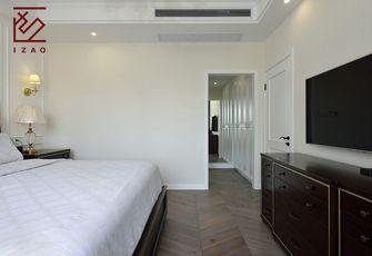 富裕型140平米三美式风格卧室装修效果图