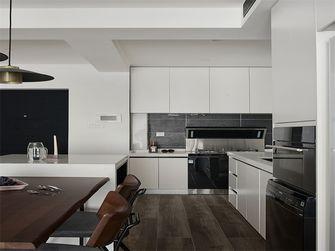 富裕型80平米三室两厅现代简约风格厨房图片大全